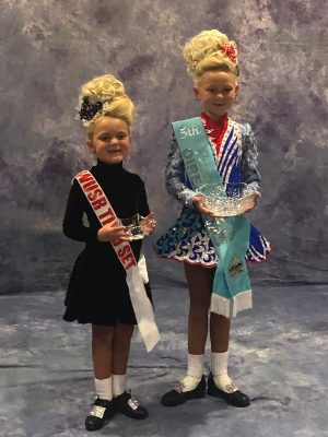 Dancers with their awards.