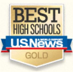 US News and World Report Best High School Logo