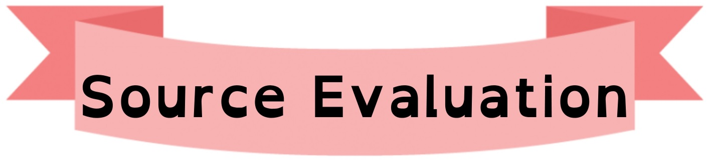 Source Evaluation Banner